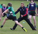 England's Chris Robshaw takes part in a training session