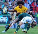 Australia's Radike Samo braces for impact