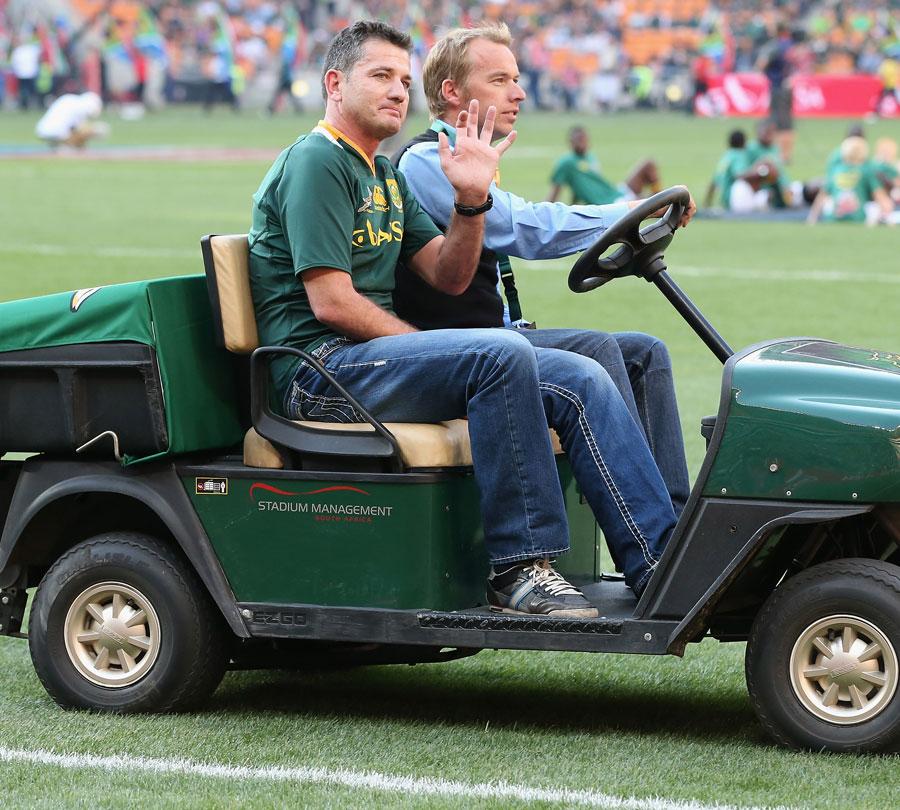 Former Springboks international Joost van der Westhuizen