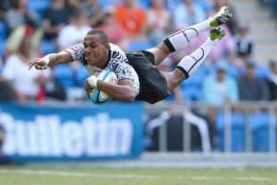 Fiji's Ilai Tinai flies in against South Africa