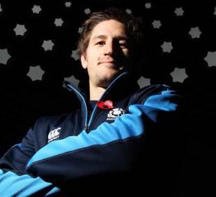 Scotland's Henry Pyrgos poses for the cameras