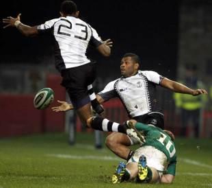 Ireland's Paddy Jackson fells Metuisela Talebula