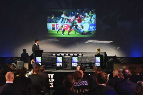A general view during the IRB Rugby World Cup 2011 Pool Allocation Draw