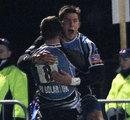 DTH van der Merwe celebrates a try