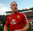 Lions' captain Paul O'Connell leaves the Loftus Versfield pitch