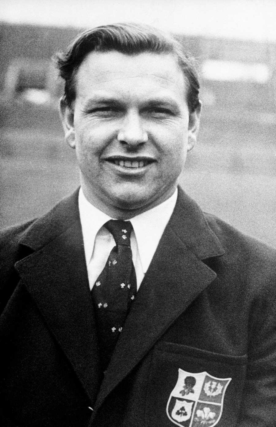 British & Irish Lion Bleddyn Williams