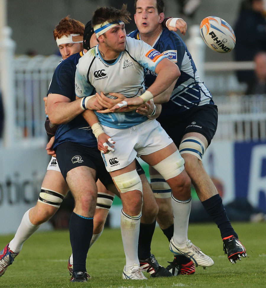 Glasgow's Ryan Wilson off loads under pressure