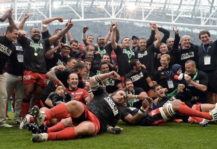 Toulon revel in their Heineken Cup triumph
