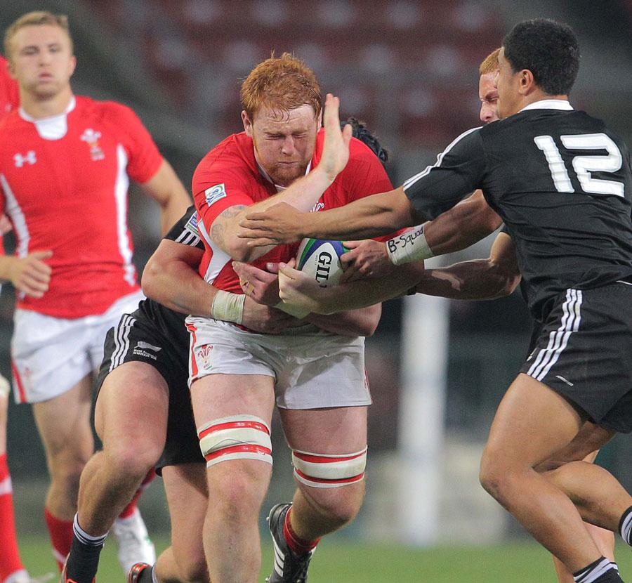 Wales U20 player Dan Baker attacks New Zealand