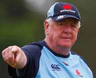 Waratahs coach Alan Gaffney calls the shots in training, Sydney, January 7,2013