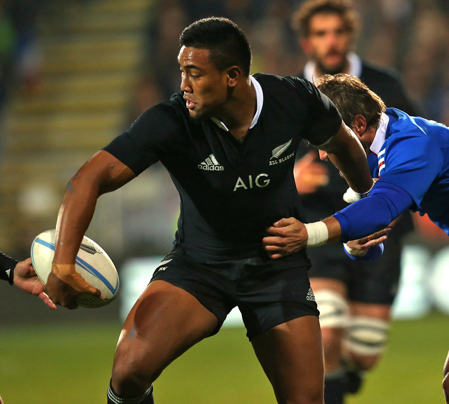 New Zealand's Julian Savea looks for support