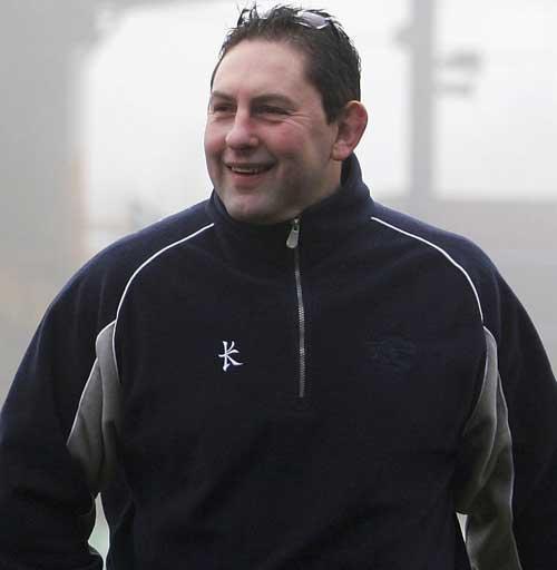 Wales U20 coach Phil Davies