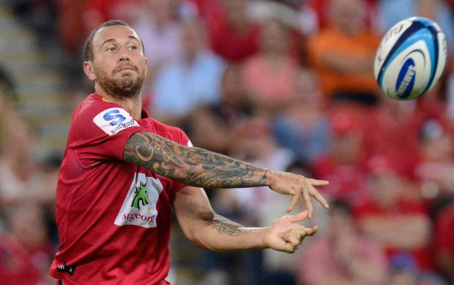 Quade Cooper in action