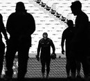 Wallabies scrum-half Will Genia leaves the ANZ Stadium field