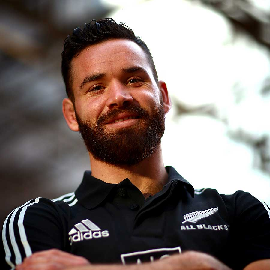 Ryan Crotty poses during a New Zealand All Blacks media session | Rugby Union | Photo | ESPN Scrum