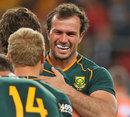 South Africa's Bismarck du Plessis celebrates victory