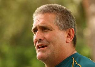 USA rugby coach Scott Johnson, picture during his time with Australia, August 26 2007