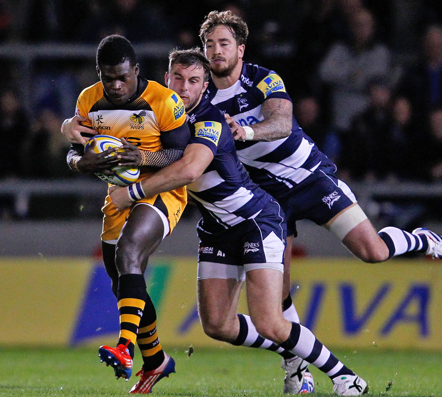 Sale's Danny Cipriani And Andy Forsyth Shackle Wasps