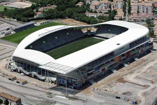 Montpellier's Yves du Manoir Stadium