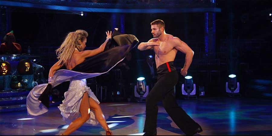 Ben Cohen in full flight in Strictly Come Dancing