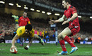 Joe Tomane touches down superbly to put Australia in control against in Cardiff