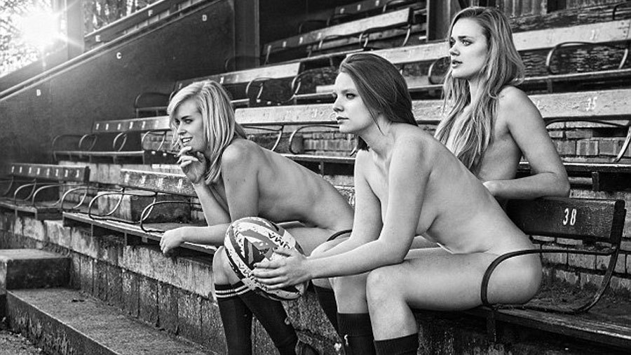 Oxford University ladies strip off for charity