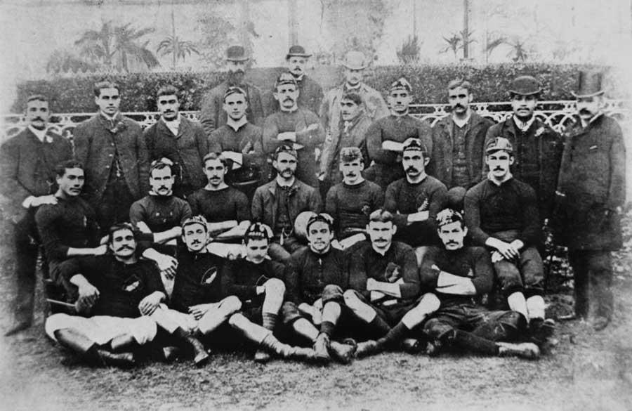 The 1888-89 New Zealand Native Football Team