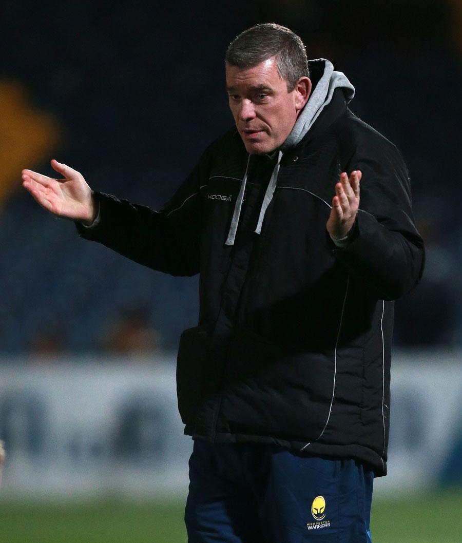 Worcester head coach Dean Ryan
