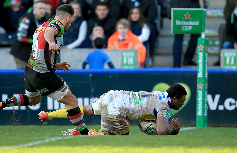 Naipolioni Nalaga scores to kick start Clermont's fight back at the Stoop