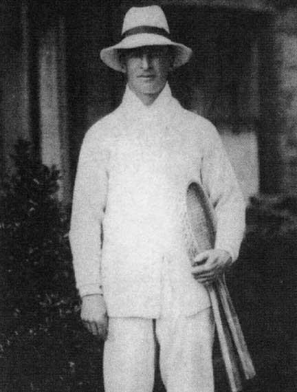Former Ireland international James Cecil Parke
