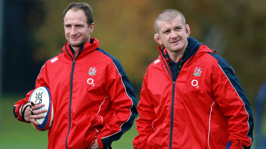 England coaches Mike Catt and Graham Rowntree