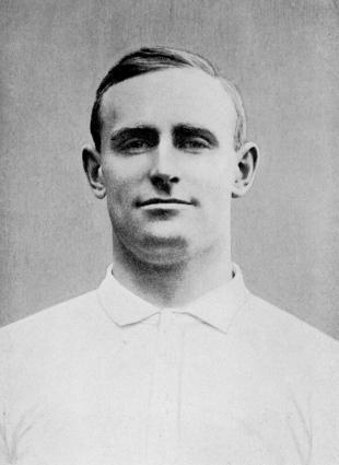 England's final pre-war captain Ronald Poulton-Palmer, February 1, 1914