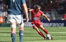 Jonny Wilkinson slots a penalty