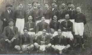 The 1914 Perpignan team