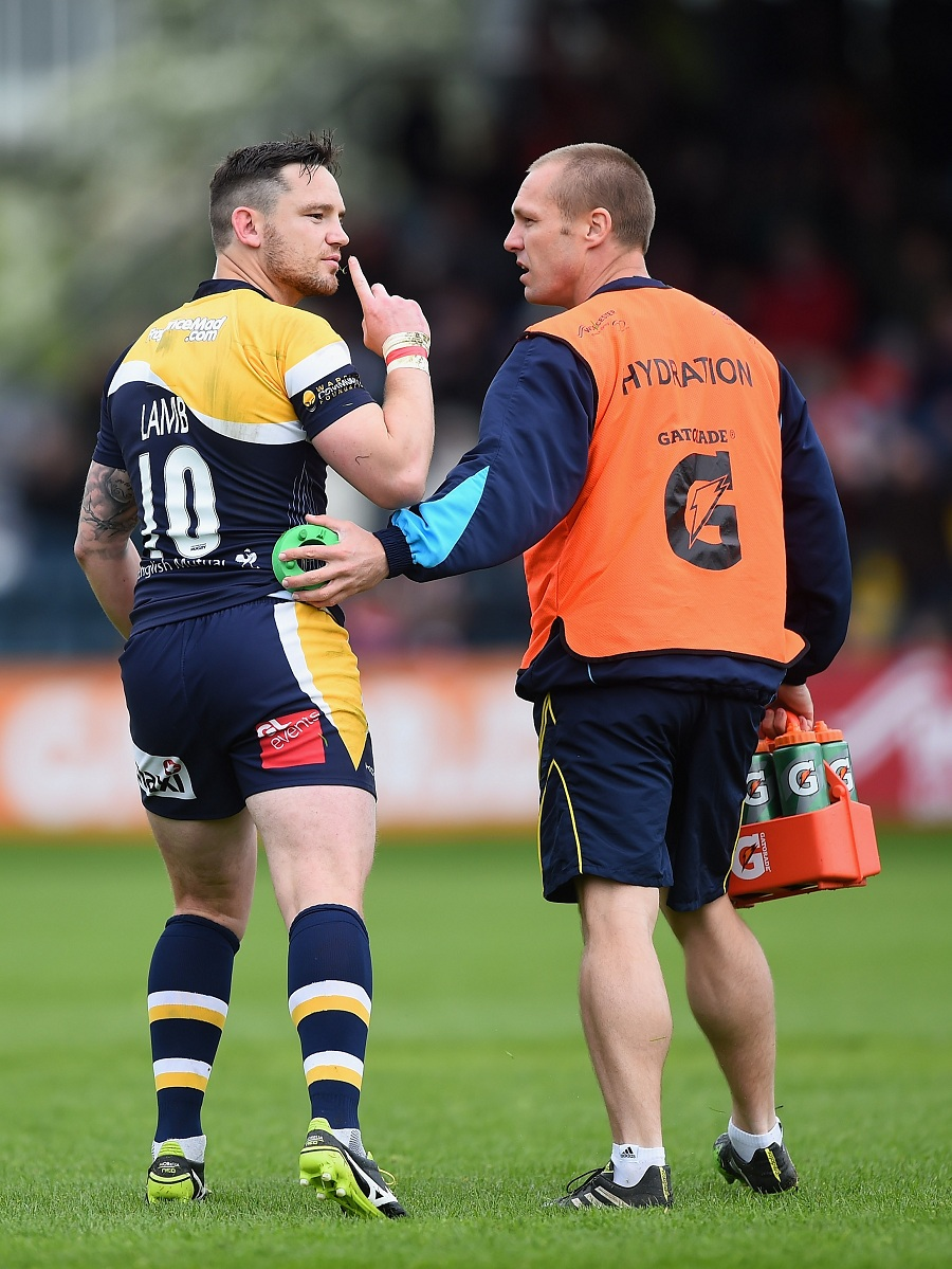 Worcester's Ryan Lamb turns to silence Gloucester fans