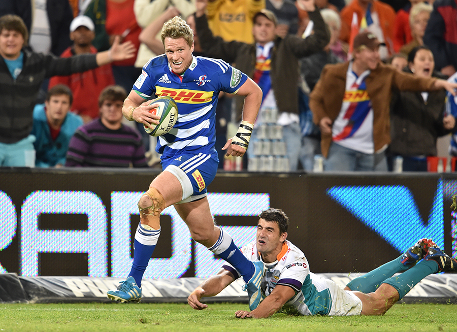 Jean de Villiers in action for the Stormers