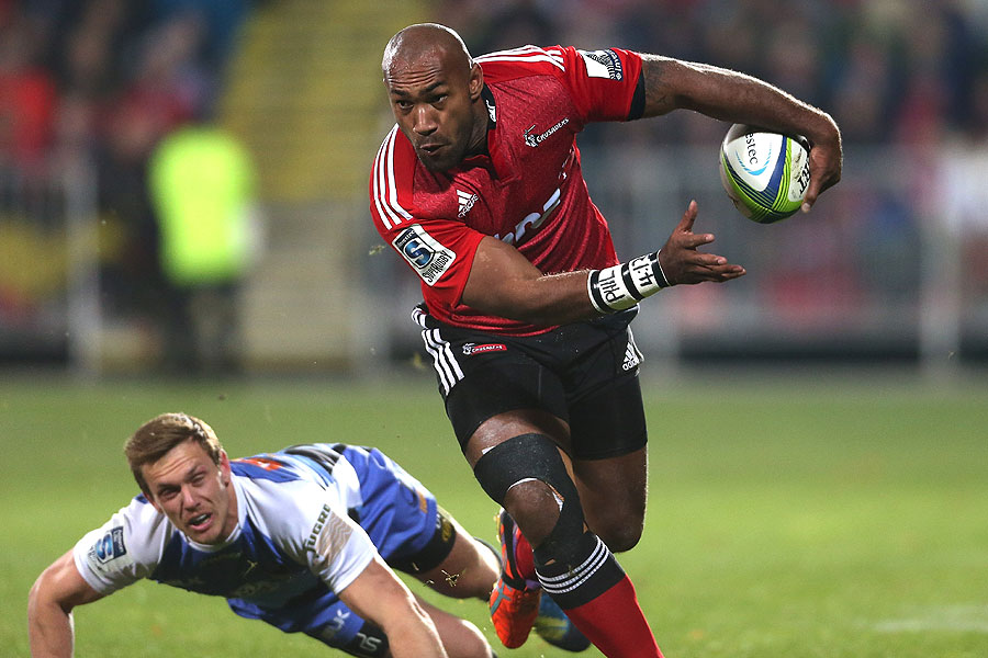 Crusaders winger Namani Nadolo proves hard to handle