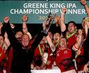London Welsh hoist up the Championship trophy