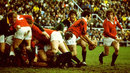 Gareth Edwards in action for the Lions