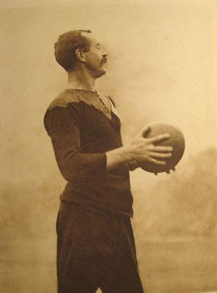 Dave Gallaher, London, 1905