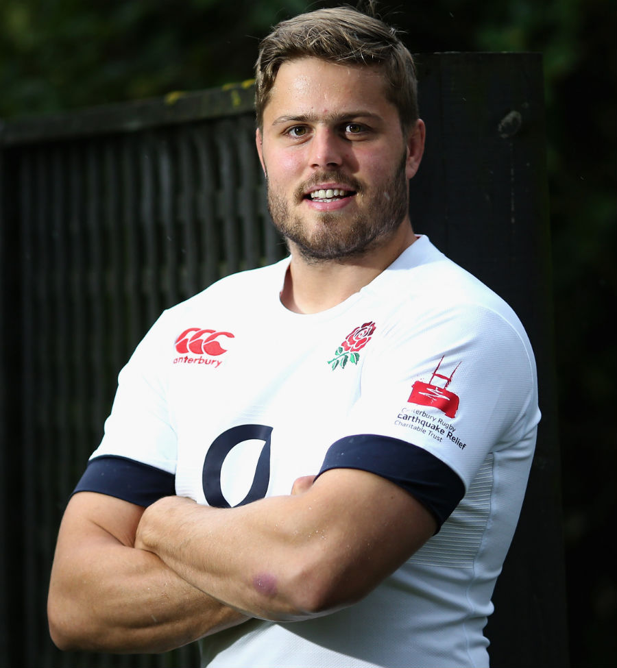 England's Ed Slater prepares to captain the team
