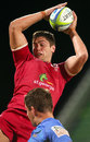 Queensland Reds' Rob Simmons wins a lineout