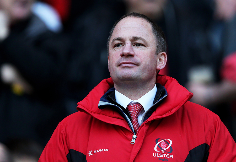 David Humphreys watches his Ulster side in action