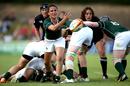 Tania Rosser fires a pass