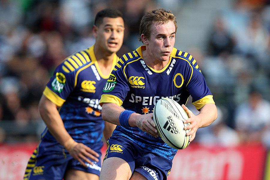 Otago's Hayden Parker considers his options