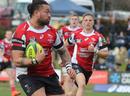 Canberra Vikings' Fotu Aluea runs the ball