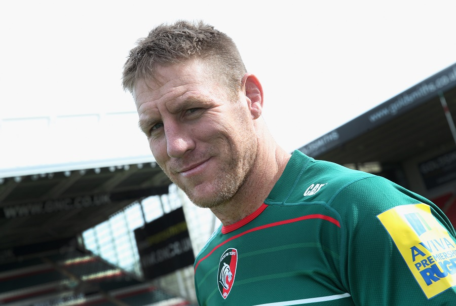 Brad Thorn poses for a photocall