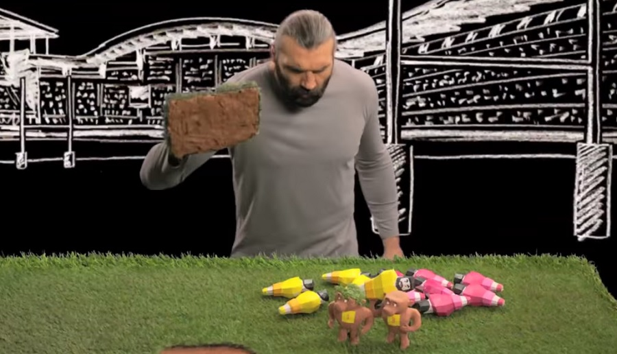 Sebastien Chabal ... from fairy to presenter