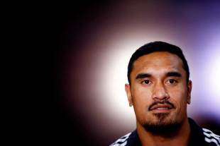 New Zealand's Jerome Kaino spoke to the media after the All Blacks arrived in Britain, Royal Garden Hotel, London, November 3, 2014