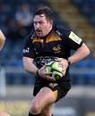 Edd Shervington bursts forward for Wasps